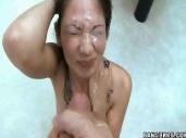 Coco Velvett Huge Facial Cumshot